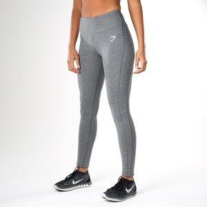 Gymshark Dry Sculpture Gray Workout Leggings XS